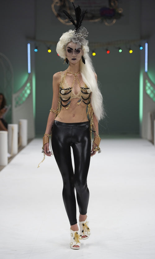mi lajki at mercedes benz fashion runway show as featured on trendhunter