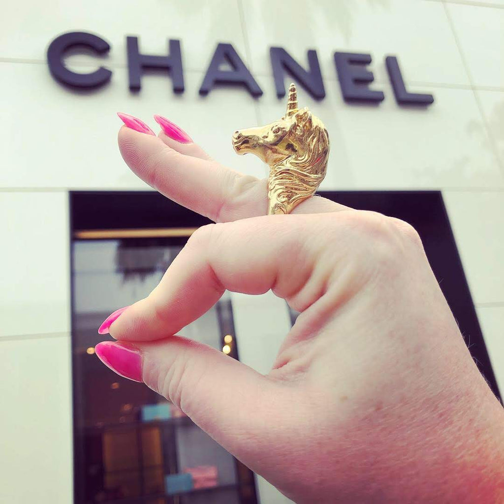 Chanel milaki treasure hunting rodeo drive Los Angeles
