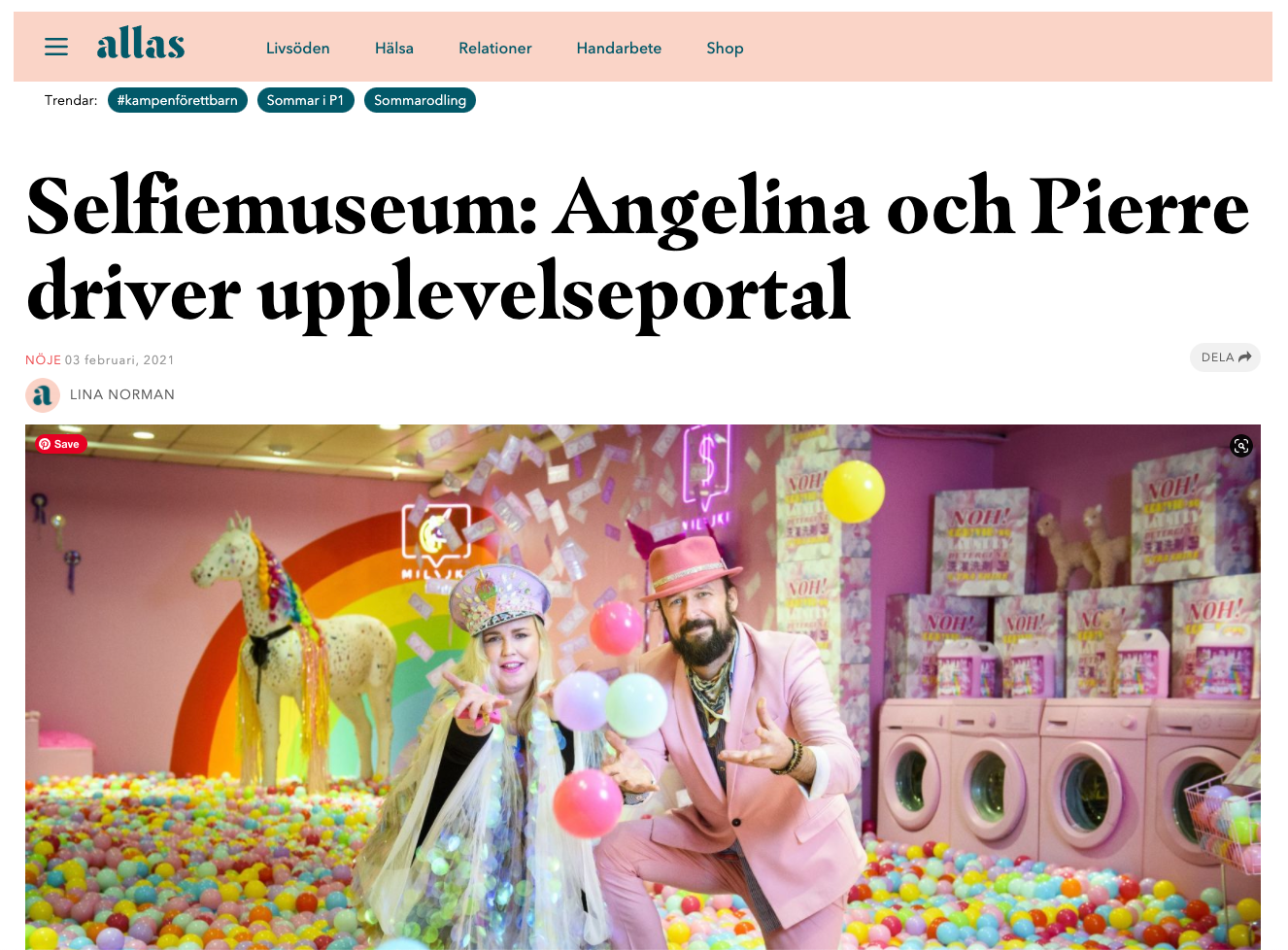 Allas milajki interview with COH! Founders Angelina & Pierre