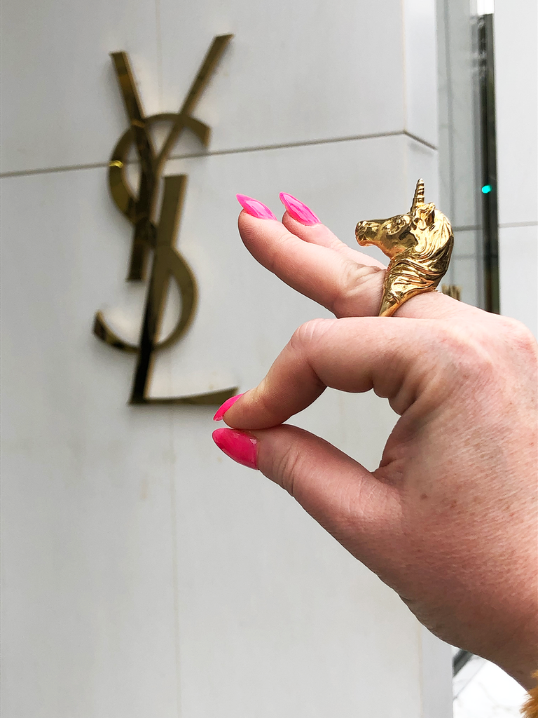 YSL milaki treasure hunting rodeo drive Los Angeles