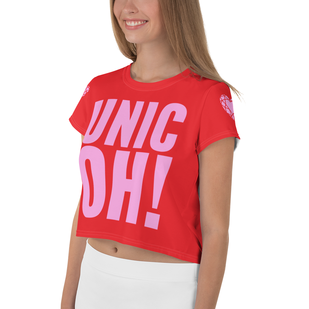 UnicOH! Crop Tee - Red