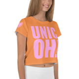 UnicOH! Crop Tee - Orange