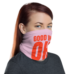Good Vibes OH!nly Neck Gaiter Face Mask - Pink