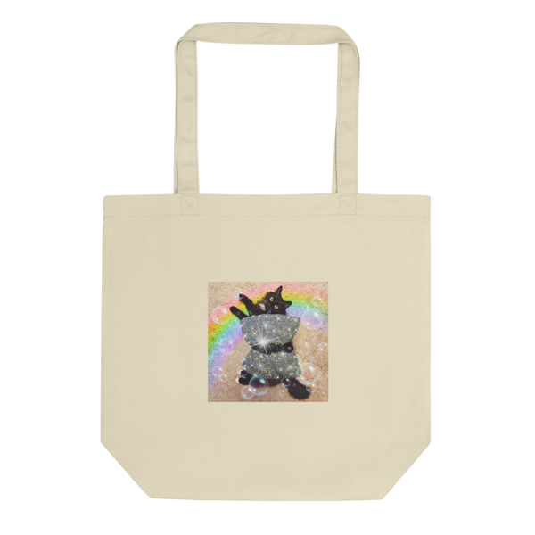 Cat PillOH!w Challenge Insta-FamOH!us  Eco Tote Bag