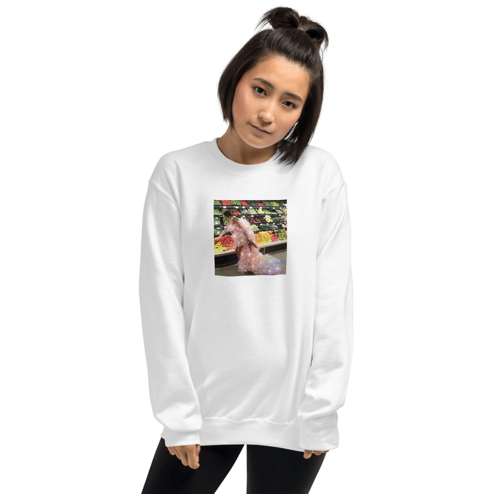 Model Grocery Shopping Insta-FamOH!ous Sweatshirt