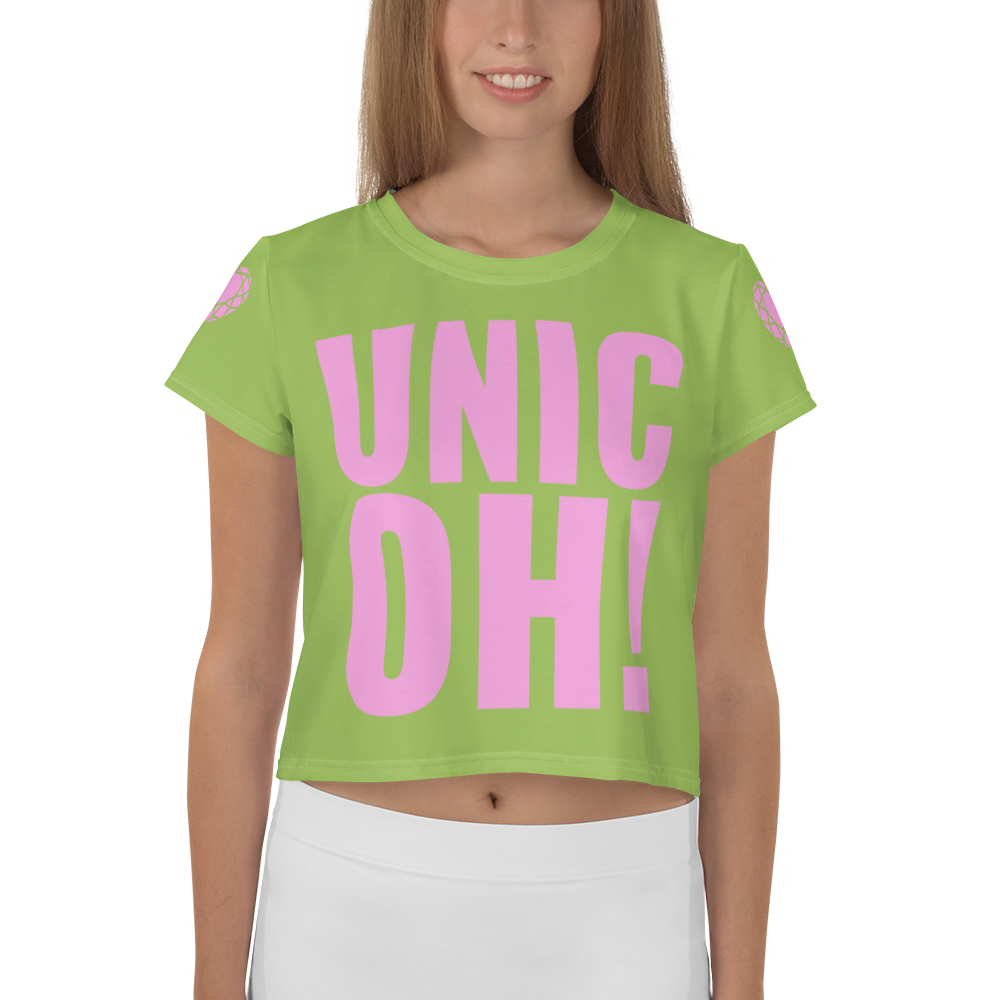 UnicOH! Crop Tee - Green
