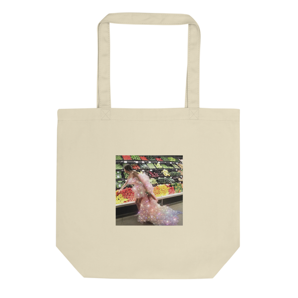 Model Grocery Shopping Insta-FamOH!ous Eco Tote Bag