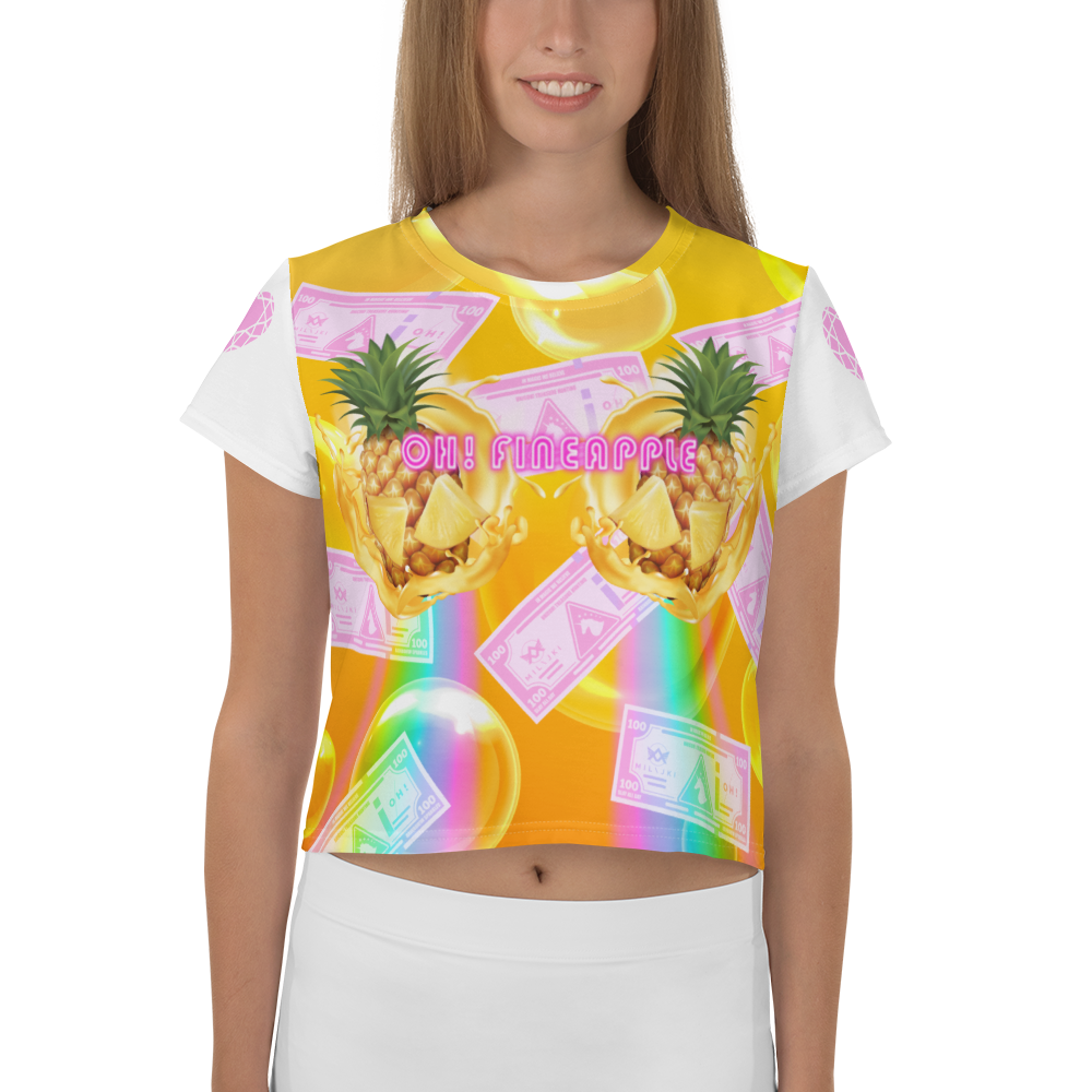 OH! Fineapple Crop Tee