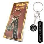 Harry Potter Diagon Alley (With Gringotts Trolley Coin) Keyring