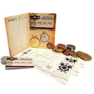 Gringotts Collectable Metal Coin Set