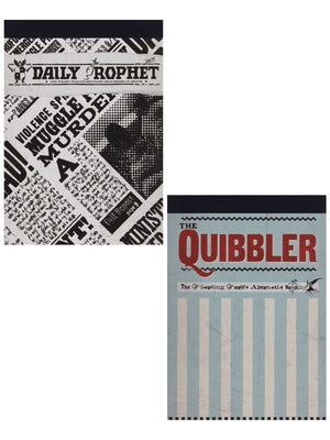 Harry Potter Quibbler & Daily Prophet Notebooks