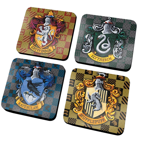 Harry Potter Housebase coaster set ( X4 coasters )
