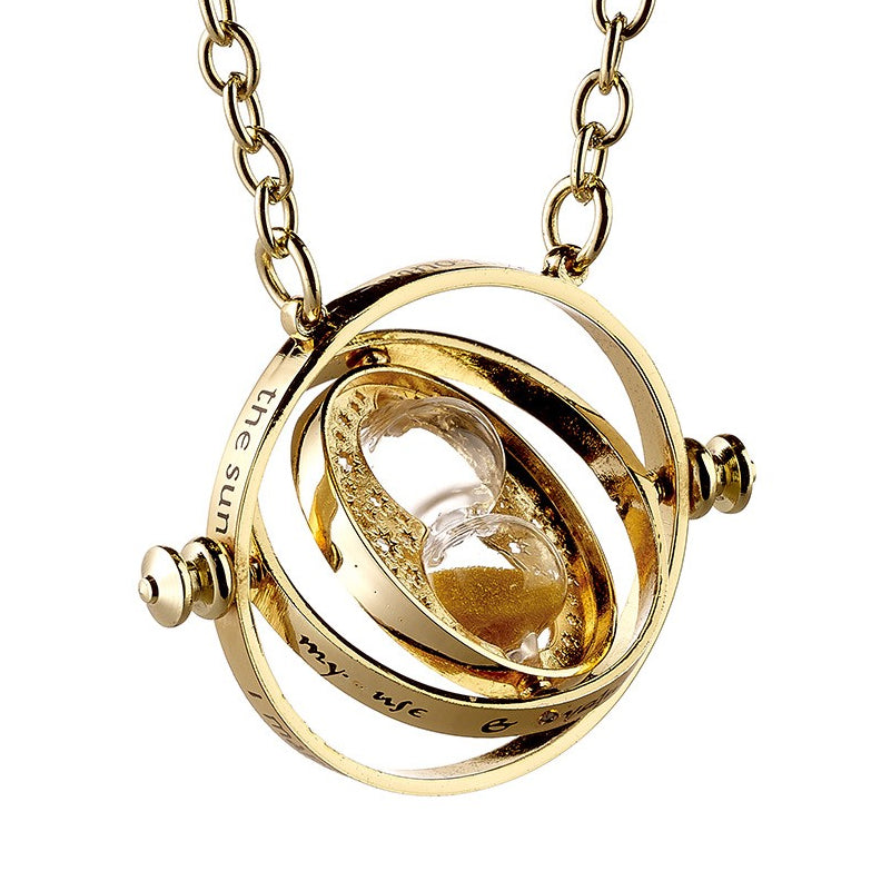 Official Hermione's Time Turner Necklace (Spinning)