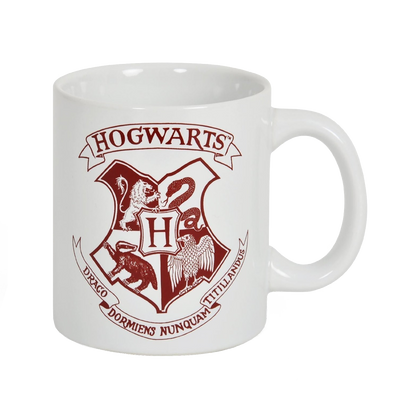 Harry Potter Hogwarts Crest Mug (with the grim)