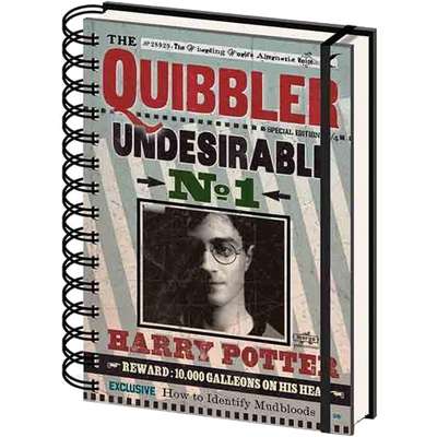Quibbler Undesirable No1 Harry Potter Notebook (Lined)