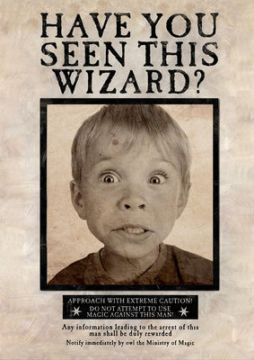 PERSONALISED (Have you seen this wizard poster)