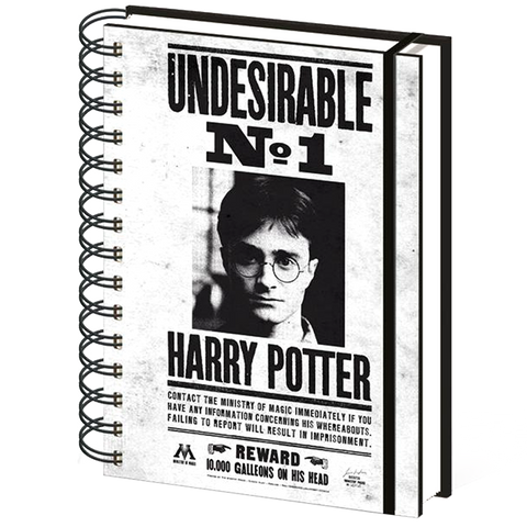 Undesirable No1 Harry Potter Notebook (Lined)