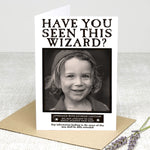 Personalised Greeting Card (Have you seen this wizard?)
