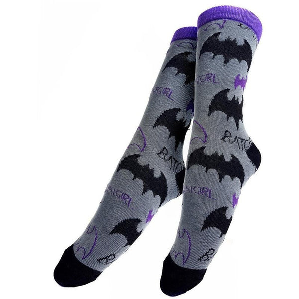 Batman Officially Licensed Batgirl Socks! Socks £6.99 Wizarding Wares
