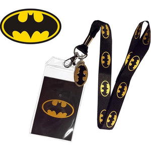 Batman Officially Licensed ID/Key Lanyard Lanyards £7.99 Wizarding Wares