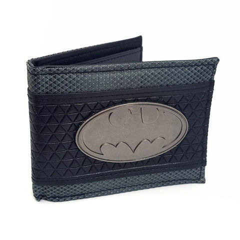 Batman Officially Licensed Mens Wallet with metal Logo Wallets £14.99 Wizarding Wares