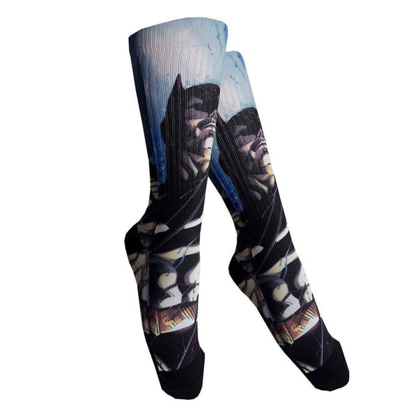 Batman Officially Licensed Sublimation Socks! Socks £6.99 Wizarding Wares