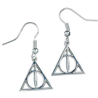 ( Deathly Hallows Symbol ) Harry Potter Earrings