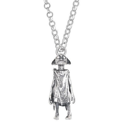 ( Dobby the house elf ) Harry Potter Solid Sterling (925) Silver Necklace