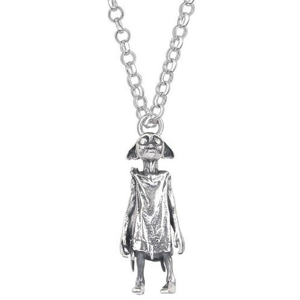 ( Dobby the house elf )  Harry Potter Officially Licensed Solid Sterling (925) Silver Necklace Jewellery £99.00 Wizarding Wares