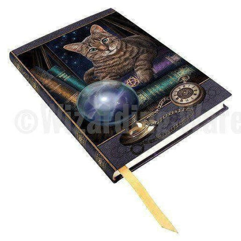 Embossed Kitty Cat Spell Book (Metallic Finish) Books £7.99 Wizarding Wares