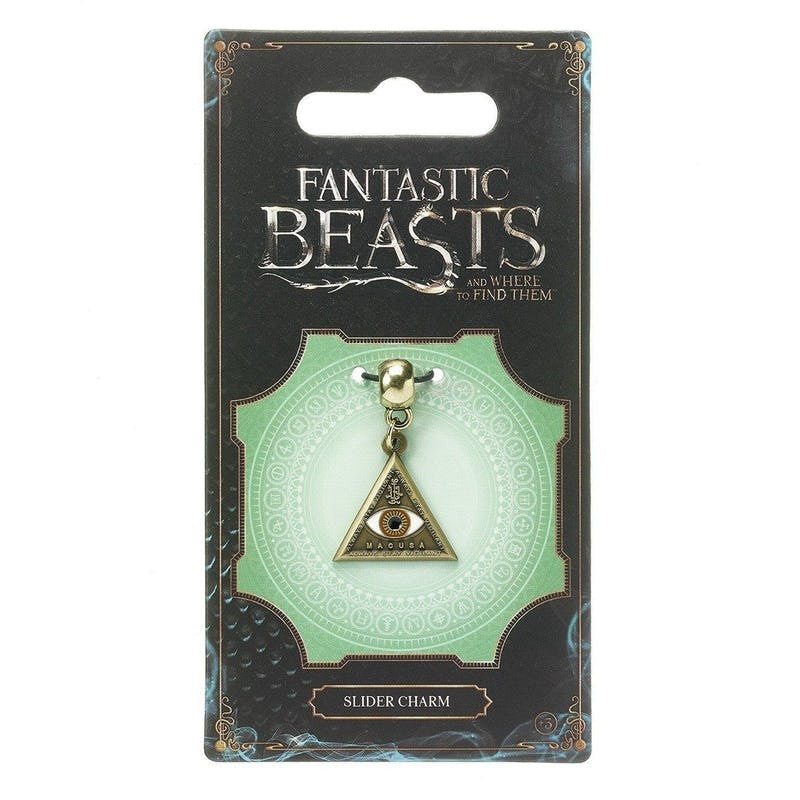 "Fantastic Beasts and Where to Find Them ""Always Stay Vigilant"" Charm Jewellery £3.99 Wizarding Wares"