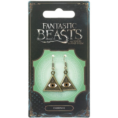 "Fantastic Beasts and Where to Find Them ""Always Stay Vigilant"" MACUSA Earrings"
