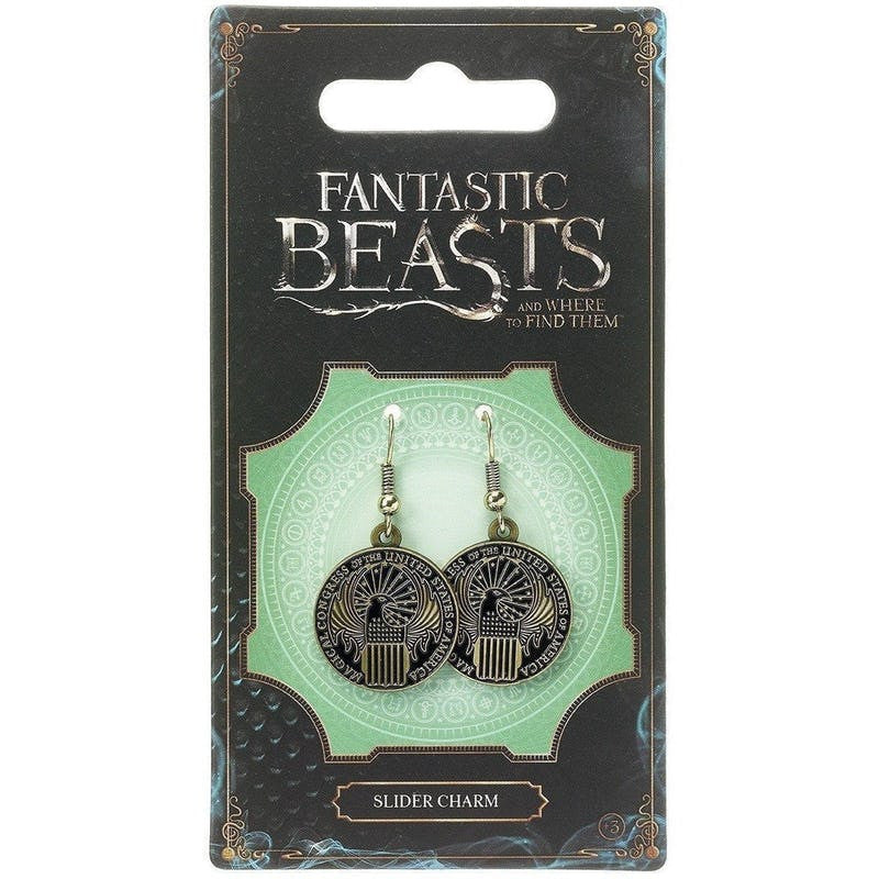 Fantastic Beasts and Where to Find Them Magical Congress of the USA Earrings Jewellery £8.99 Wizarding Wares