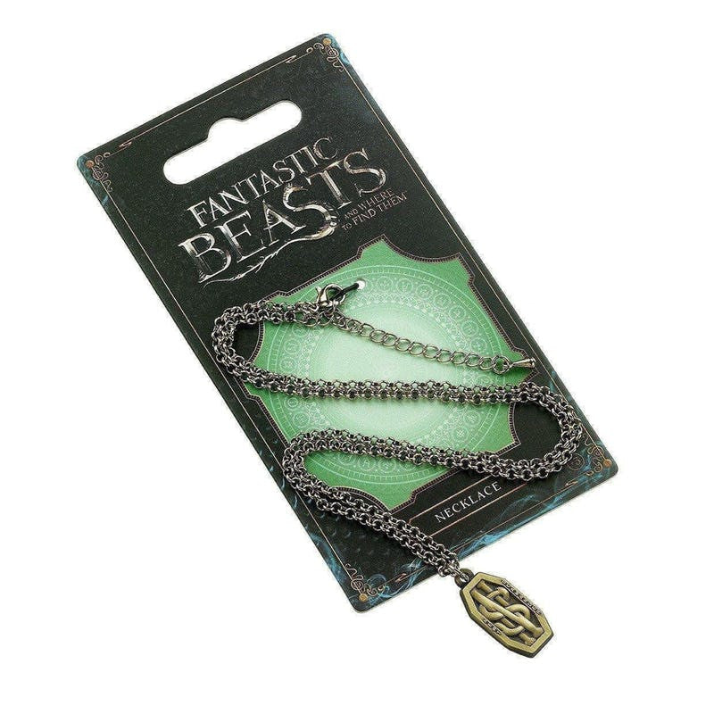 Fantastic Beasts and Where to Find Them Newt Scammander's Necklace Jewellery £7.99 Wizarding Wares