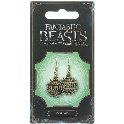 Fantastic Beasts and Where to Find Them Stupefy Spell Earrings
