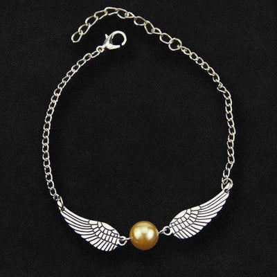 Golden Wings Witchcraft & Wizardry Bracelet