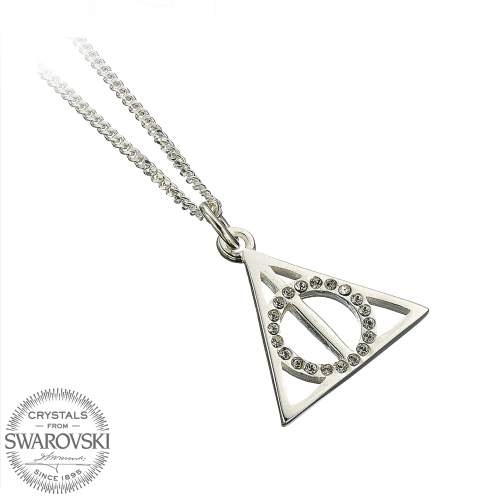 Swarovski The Deathly Hallows Solid Sterling Silver Necklace