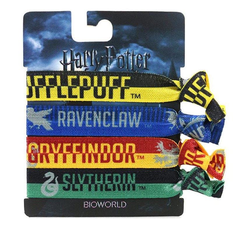 Harry Potter Hair Bands/Ties All 4 Housebases Accessories £6.99 Wizarding Wares