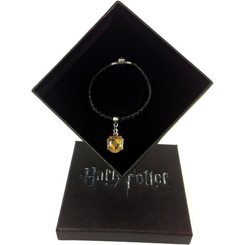 Harry Potter Hufflepuff Charm + Bracelet + Gift Box Jewellery £14.99 Wizarding Wares