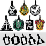 Harry Potter Official luggage labels ( 7 Styles Available) Luggage Tags £9.99 Wizarding Wares