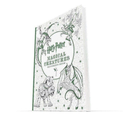 Harry Potter Magical Beasts Official Colouring book