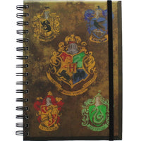 Harry Potter Officially Licensed A5 Hogwarts/Housebase Crest Notebook Harry Potter £6.99 Wizarding Wares