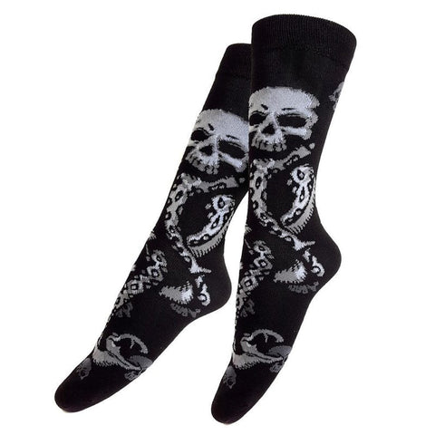Harry Potter Officially Licensed Death Eater Socks! (New) Socks £6.99 Wizarding Wares