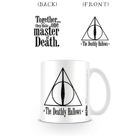 Harry Potter Officially Licensed Deathly Hallows Mug Mug £6.99 Wizarding Wares