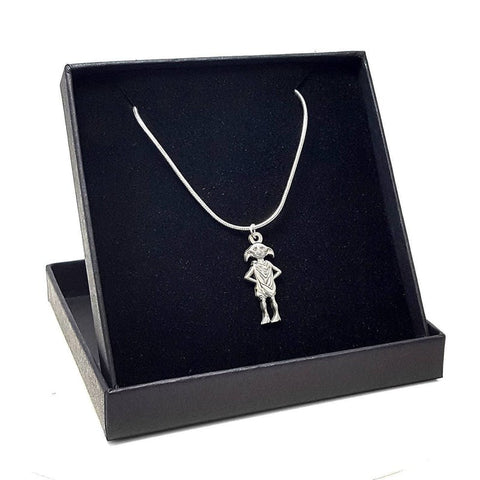 Harry Potter Officially Licensed Dobby The House Elf Necklace + Gift box Jewellery £8.99 Wizarding Wares