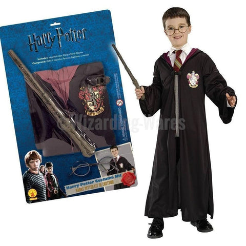 Harry Potter Officially Licensed Dress Up Outfit Set - 8 - 10 Years. Robe Wand & Glasses Harry Potter £19.99 Wizarding Wares