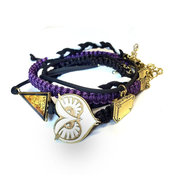Harry Potter Officially Licensed Fantastic Beasts Bracelet Set (x5 Bracelets!) Harry Potter £11.49 Wizarding Wares