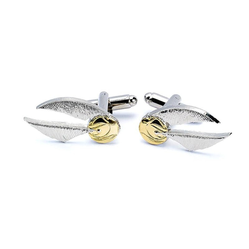 Harry Potter Officially Licensed Golden Snitch Cufflinks cufflinks £15.99 Wizarding Wares