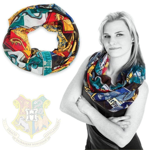 Harry Potter Officially Licensed Hogwarts Fashion Scarf Scarves £12.99 Wizarding Wares