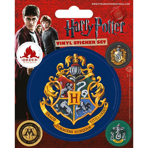 Harry Potter Officially Licensed Hogwarts Sticker Set stickers £1.45 Wizarding Wares